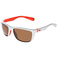 Очки Nike Swag White/Total Crimson/Brown Lens