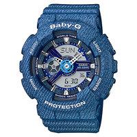 Кварцевые часы детские Casio Baby-g BA-110DC-2A2 Blue