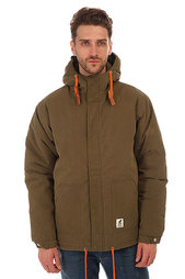 Куртка зимняя Fat Moose Sailor Army-orange