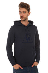Толстовка кенгуру Le Coq Sportif Affutage Po Hood Unbr Dress Blues