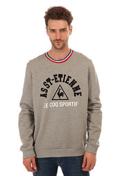 Толстовка классическая Le Coq Sportif Goral Crew Sweat Light Heather Grey