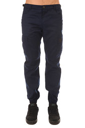 Штаны прямые Skills Chino Pockets Strap Navy