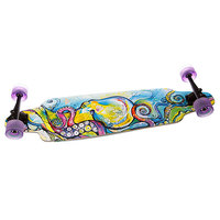 Скейт мини круизер Dusters Su3 Kraken Longboard Blue/Purple 10(25.4 см)
