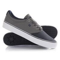 Кеды кроссовки низкие DC Mikey Taylor Vulc Grey/Black