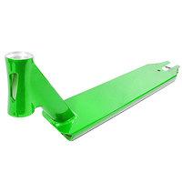 Дека для скейтборда для самоката Blunt Kos Deck No Brake Green