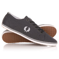 Кеды кроссовки низкие Fred Perry Kingston Heavy Two Tone Canvas Navy