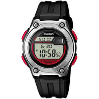 Электронные часы Casio Collection W-211-1B Black/Grey/Red