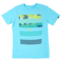 Футболка детская Quiksilver Line Up Tees Bluefish