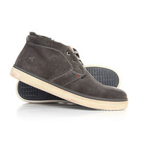 Зимние кеды Wrangler Willie Desert Fur Suede Dark Grey