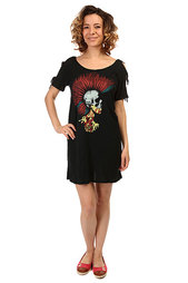 Платье женское Volcom Knotted Tee Dress Black