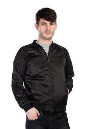 Бомбер Huf X Thrasher Satin Souvenir Jacket Black
