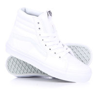 Кеды кроссовки высокие Vans Sk8 Hi True White