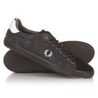 Кеды кроссовки низкие Fred Perry Howells Camo Jacquard