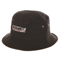 Панама Stussy Clear Patch Bucket Hat Black