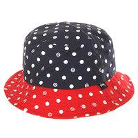 Панама женская Stussy Dot Bucket Hat Navy