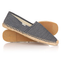 Эспадрильи Soludos Original Stripe Light Navy/White