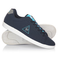 Кеды кроссовки низкие Le Coq Sportif Courtone Syn Nubuck Dress Blues