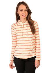Толстовка кенгуру женская Roxy Adelaide Poncho Adelaide Stripe Combo Beige/Or