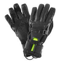Перчатки сноубордические Bern Black Leather Gloves W Removable Wristguard Black