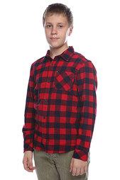 Рубашка в клетку детская Quiksilver Gulls Youth Quik Red