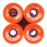 Колеса для скейтборда для лонгборда Z-Flex Longboard Wheels Orange 78A 69 mm