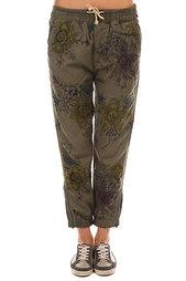 Штаны широкие женские Burton Wb Joy Pant Succulent Camo