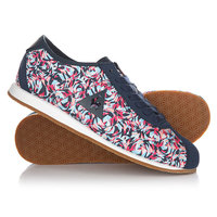 Кроссовки женские Le Coq Sportif Wendon Flower Jacquard Dress Blue