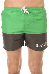 Шорты пляжные TrueSpin Core Shorts Green/Grey
