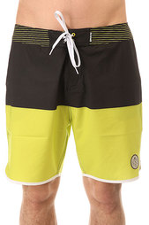 Шорты пляжные Mystic Block Boardshort 18 Fluor Lime