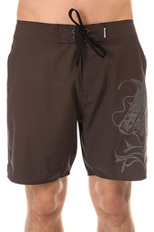 Щорты пляжные Mystic Kook Koi Fish Boardshort 18 Dark Grey