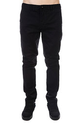 Штаны прямые Globe Goodstock Chino Black