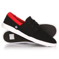 Кеды кроссовки низкие DC Haven Black/Red