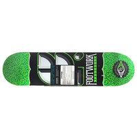 Дека для скейтборда для скейтборда Footwork Progress Cracked Salad Green 31.6 x 8 (20.3 см)