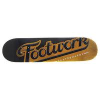 Дека для скейтборда для скейтборда Footwork Original Lucky Yellow 31.3 x 7.87 (19.9 см)