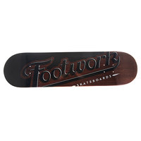 Дека для скейтборда для скейтборда Footwork Original Lucky Brown 32.5 x 8.25 (21 см)