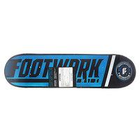 Дека для скейтборда для скейтборда Footwork Progress Shred Cyan 31.4 x 8.125 (20.6 см)