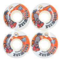 Колеса для скейтборда для скейтборда Footwork Decky White 100A 52 mm