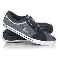 Кеды кроссовки низкие Le Coq Sportif Saint Ferdinand 2 Tones/Suede Dress Blue