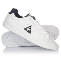 Кроссовки Le Coq Sportif Courtone S Lea Optical White/Dress Blue