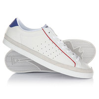 Кеды кроссовки низкие Le Coq Sportif Saga Comp Lea Optical White/Cobalt