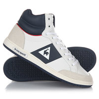 Кеды кроссовки высокие Le Coq Sportif Prestige Court Mid Sport Optical White/D