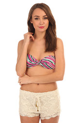 Бюстгальтер женский Billabong Bandeau Sol Searcher Bright Plum