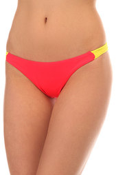 Трусы женские Billabong Tanga Side Sol Sear. Red Hot