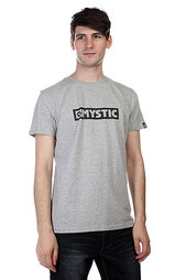 Футболка Mystic Brand Tee Grey Melee