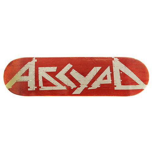 Дека для скейтборда для скейтборда Absurd Logo 3 Red 31.75 x 8.25 (21 см)