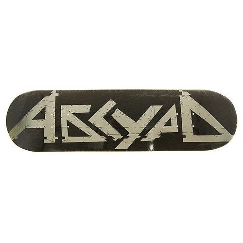 Дека для скейтборда для скейтборда Absurd Logo 2 Black 31.5 x 8.125 (20.6 см)