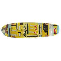 Дека для скейтборда для лонгборда Absurd Paint 3 Multi 7.75 x 30.12 (76.5 см)