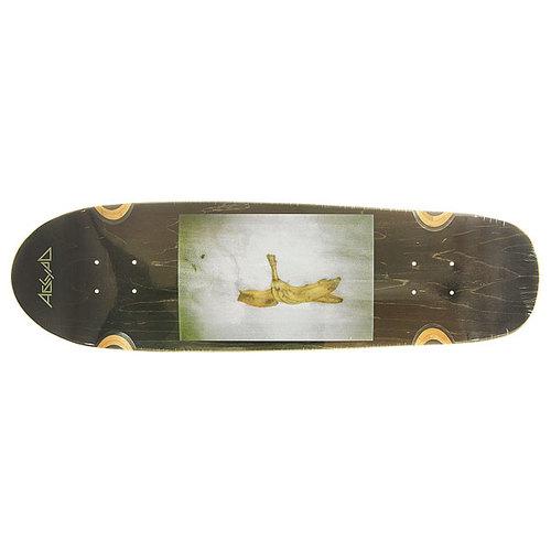 Дека для скейтборда для лонгборда Absurd Banana photo 1 Black 8.5 x 30.875 (78.4 см)