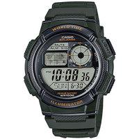 Электронные часы Casio Collection Ae-1000w-3a Green/Black