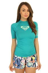 Гидрофутболка женская Roxy Wholeheartss Dark Jade